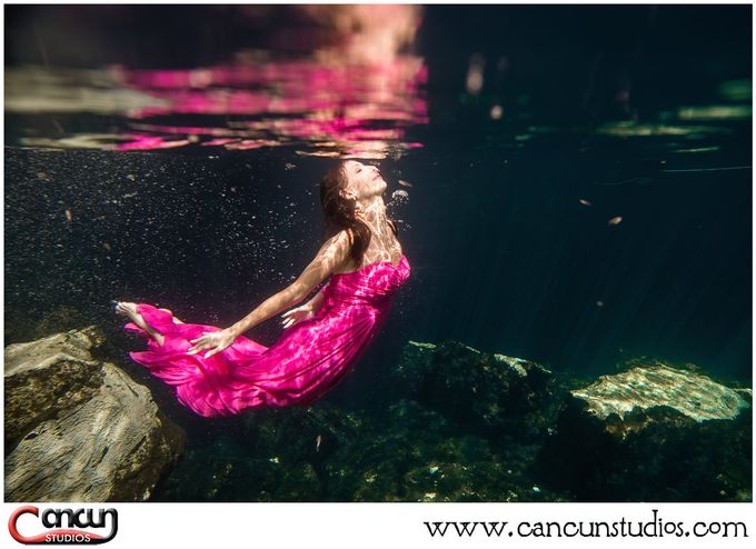 Underwater Cenote by Cancun Studios Photography - 025