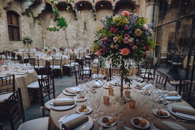 Wedding in a castle by C&G Wedding and Event Designer - 008