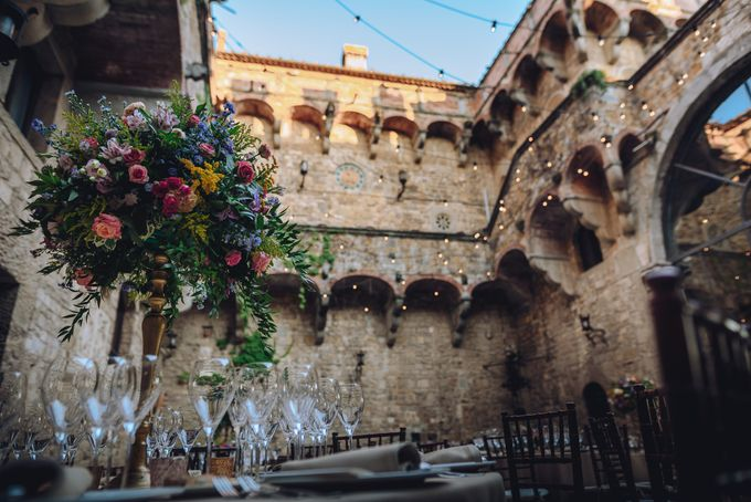 Wedding in a castle by C&G Wedding and Event Designer - 007