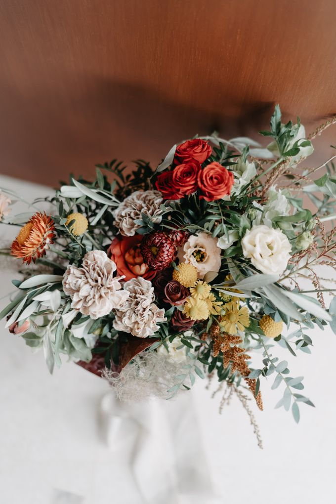 Bridal Bouquets by The Bloomish Eden - 004