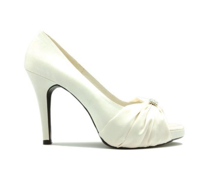 Custom Made Wedding Shoes by Kate Mosella Custom Made Shoes - 007