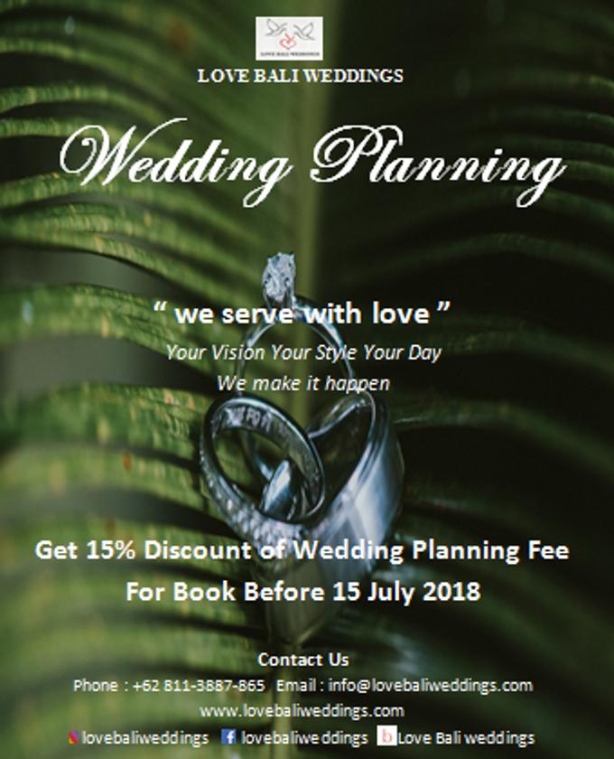 Love Bali Weddings Special Offer by Love Bali Weddings - 001