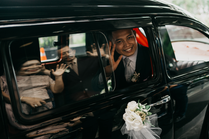 Wedding day : Ardi & Ella by CARA wedding - 003