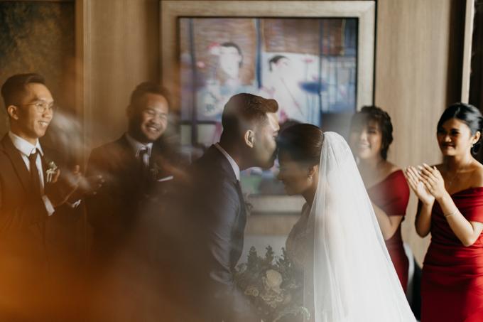 Wedding day : Ardi & Ella by CARA wedding - 016