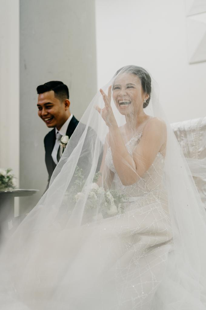 Wedding day : Ardi & Ella by CARA wedding - 020
