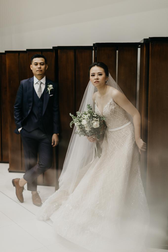 Wedding day : Ardi & Ella by CARA wedding - 025