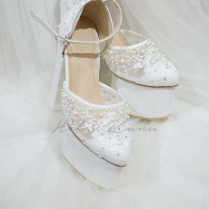PRISKILA white Heels  by Helen Kunu by Kunu Looks - 005