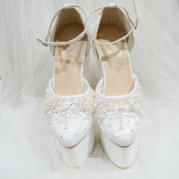 PRISKILA white Heels  by Helen Kunu by Kunu Looks - 008