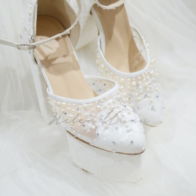 PRISKILA white Heels  by Helen Kunu by Kunu Looks - 009