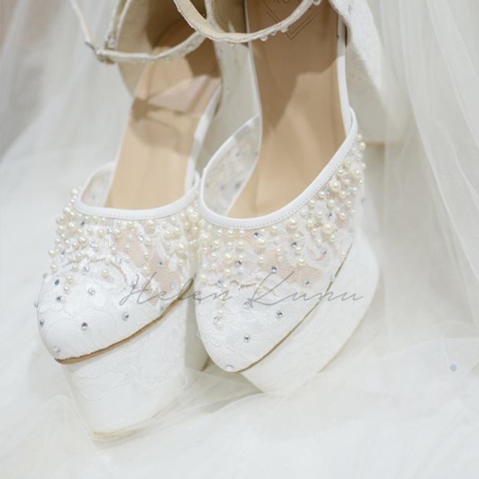 PRISKILA white Heels  by Helen Kunu by Kunu Looks - 010