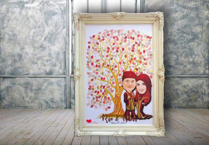 Hanny & Rio by Wedding Fingerprint Indonesia - 002