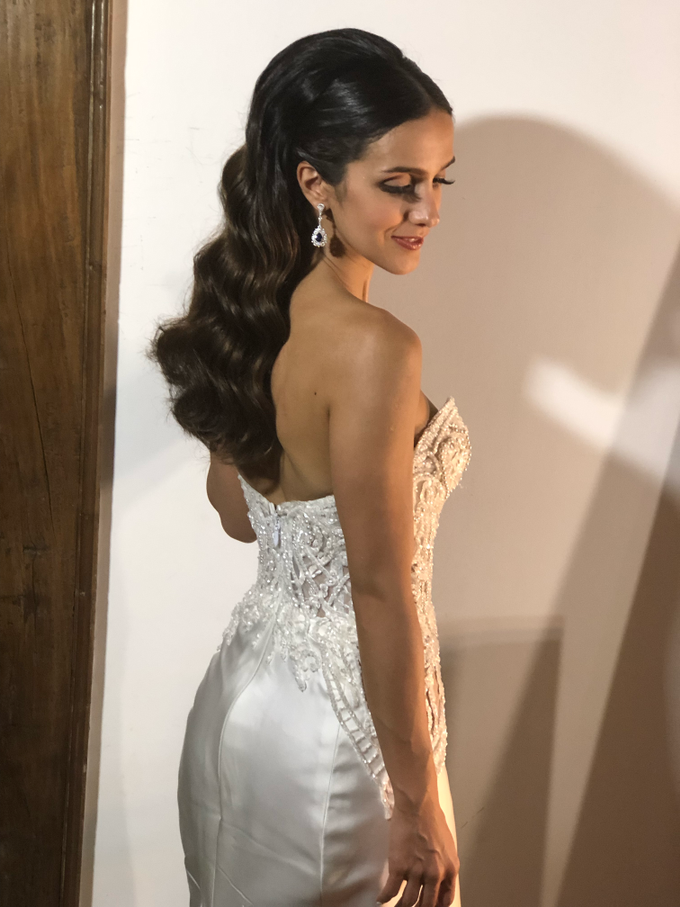 Natural Bridal Make Up for Dinner Reception  by Carmelia & Team Make Up Artist - 001