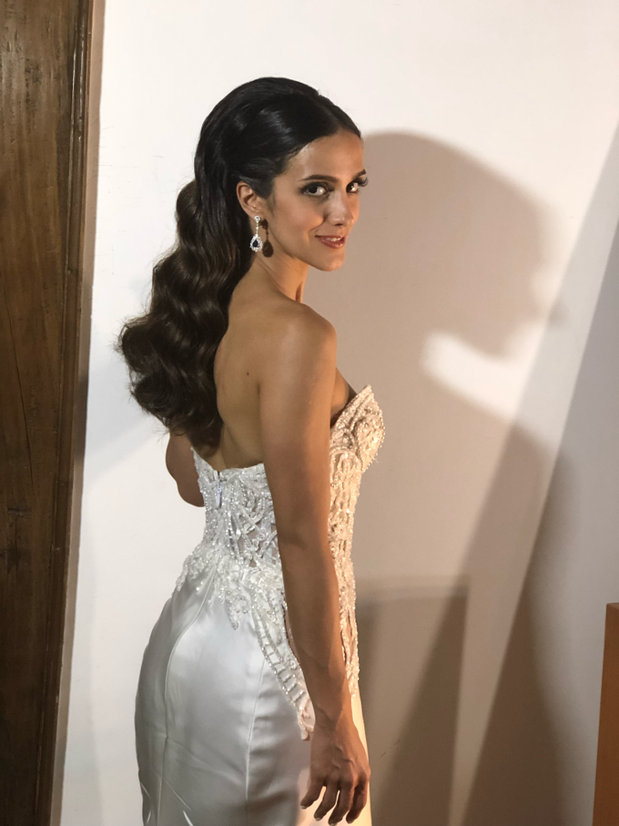 Natural Bridal Make Up for Dinner Reception  by Carmelia & Team Make Up Artist - 003