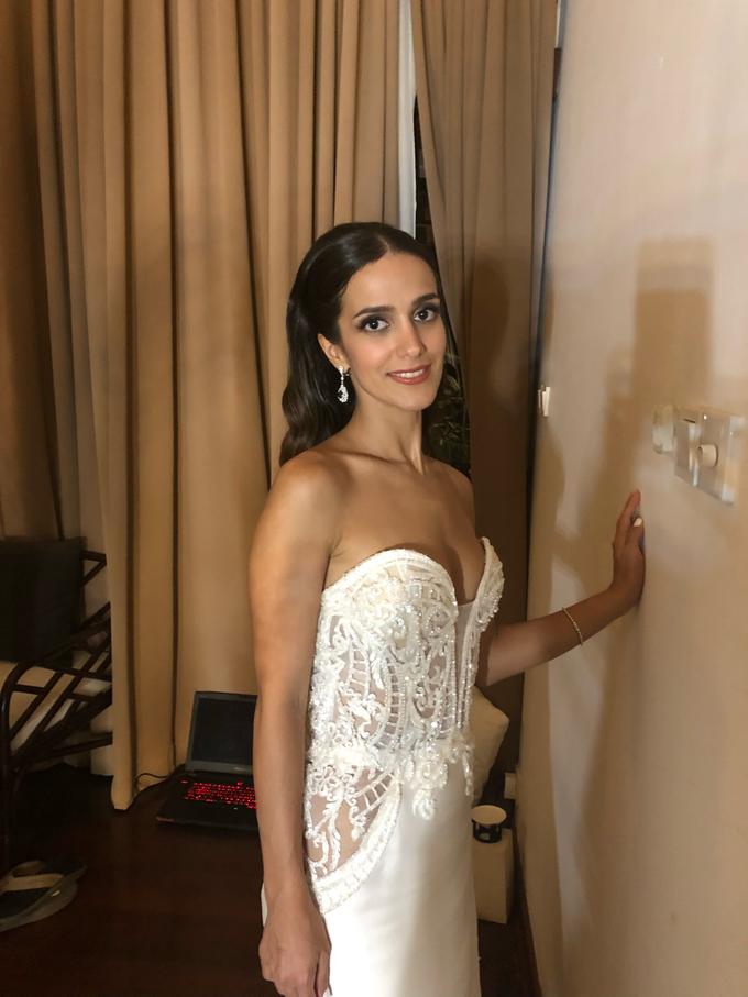 Natural Bridal Make Up for Dinner Reception  by Carmelia & Team Make Up Artist - 004