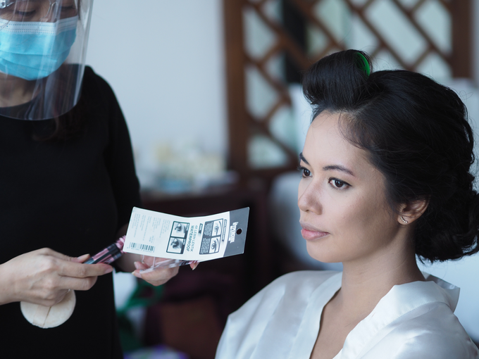 Bride Make Up with New Normal Standard by Carmelia & Team Make Up Artist - 004