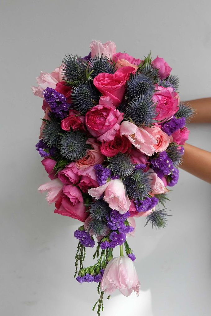 Cascade Bouquet Collection by Il Fiore - 002