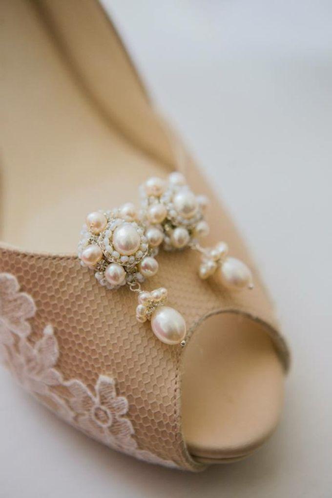 Bridal Shoe Close Ups by Christy Ng Shoes - 024