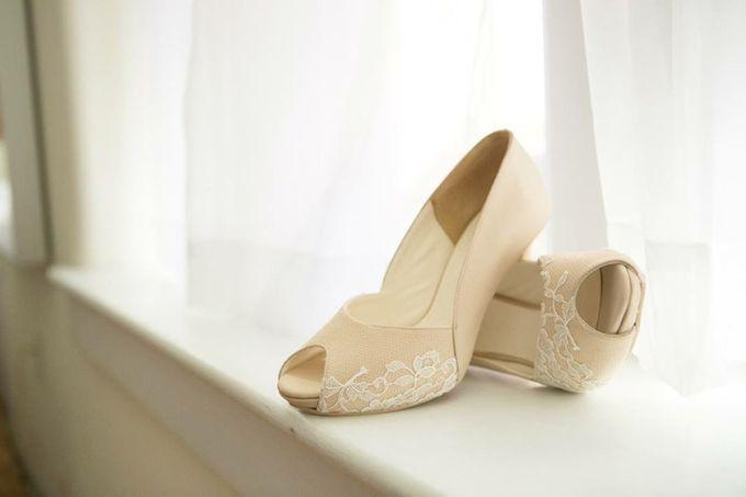 Bridal Shoe Close Ups by Christy Ng Shoes - 025