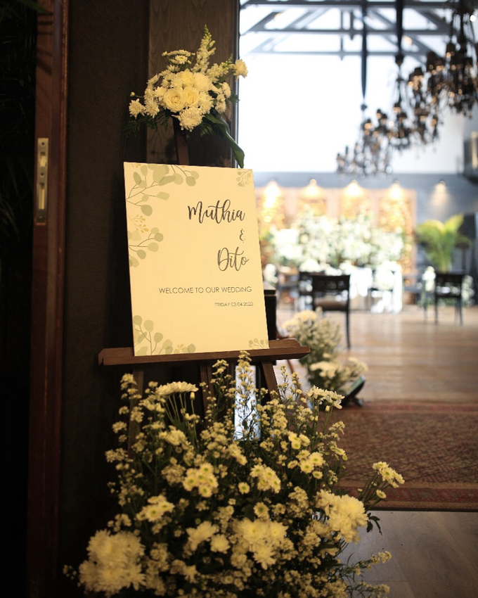 The Wedding of Muthia & Dito by Cassia Decoration - 004