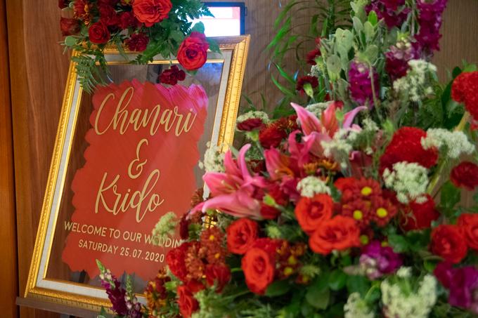 The Wedding of Chanari & Krido by Cassia Decoration - 004