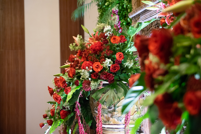 The Wedding of Chanari & Krido by Cassia Decoration - 003