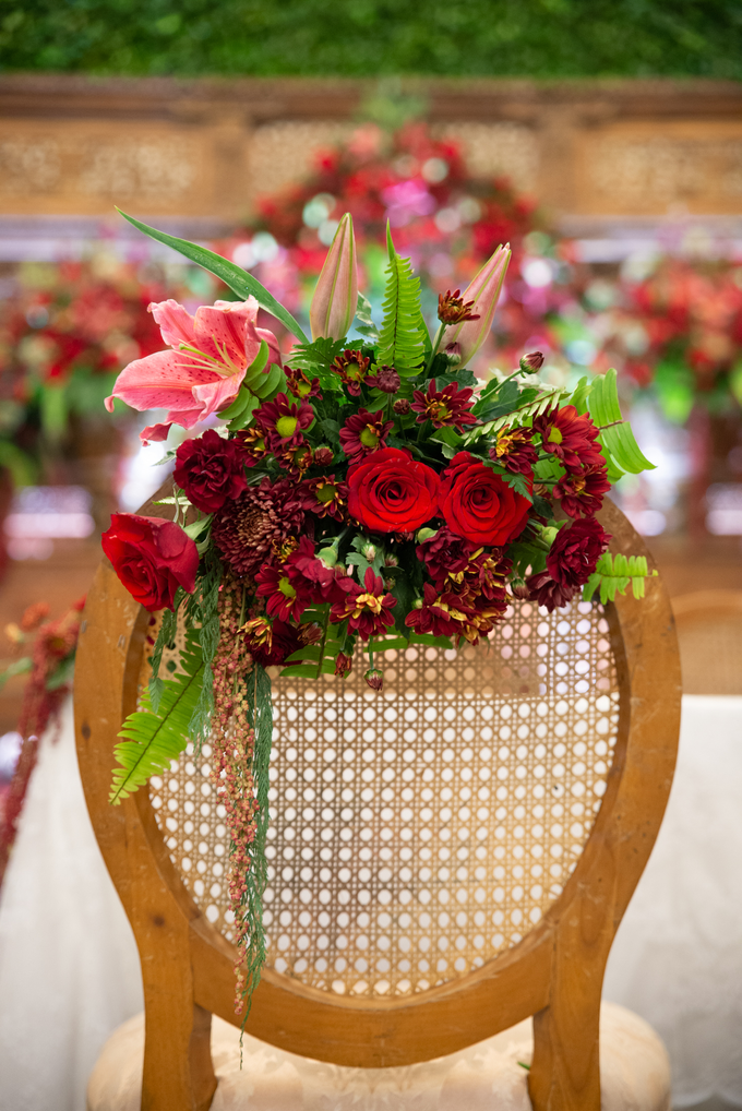 The Wedding of Chanari & Krido by Cassia Decoration - 018