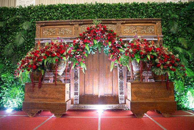 The Wedding of Chanari & Krido by Cassia Decoration - 022