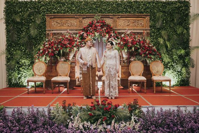 The Wedding of Chanari & Krido by Cassia Decoration - 027