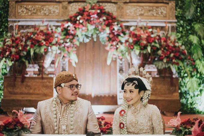 The Wedding of Chanari & Krido by Cassia Decoration - 028