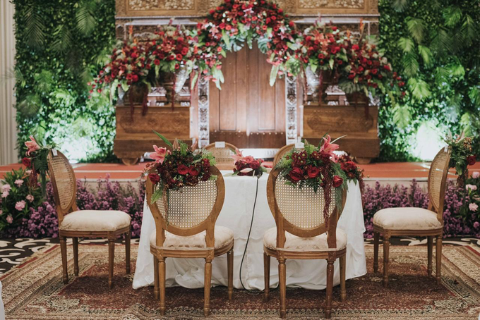 The Wedding of Chanari & Krido by Cassia Decoration - 032