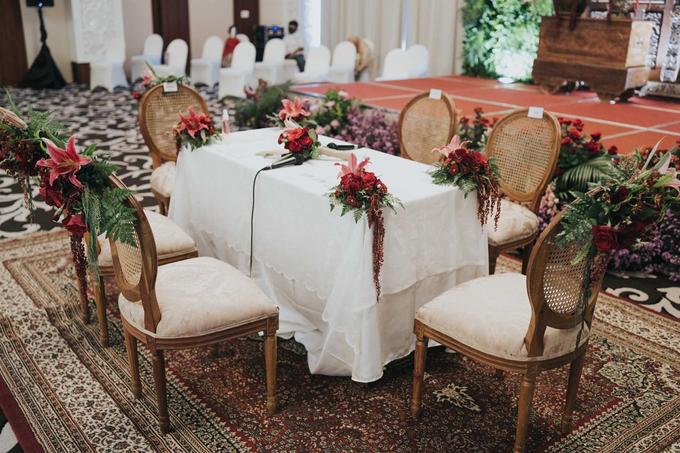 The Wedding of Chanari & Krido by Cassia Decoration - 033
