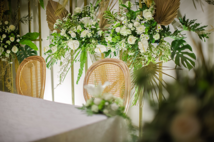 The Wedding of Annisa & Adam by Cassia Decoration - 003