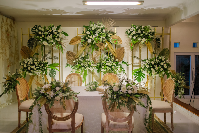 The Wedding of Annisa & Adam by Cassia Decoration - 010