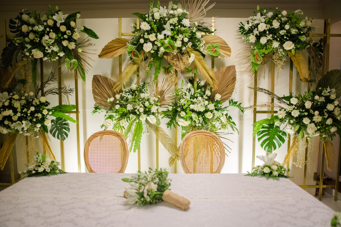 The Wedding of Annisa & Adam by Cassia Decoration - 014