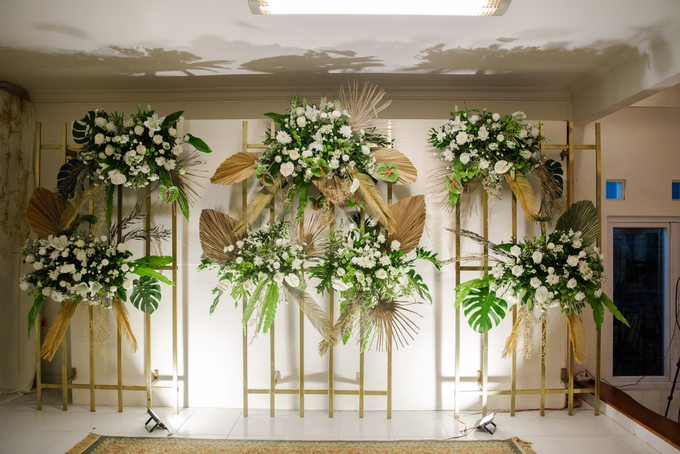 The Wedding of Annisa & Adam by Cassia Decoration - 016