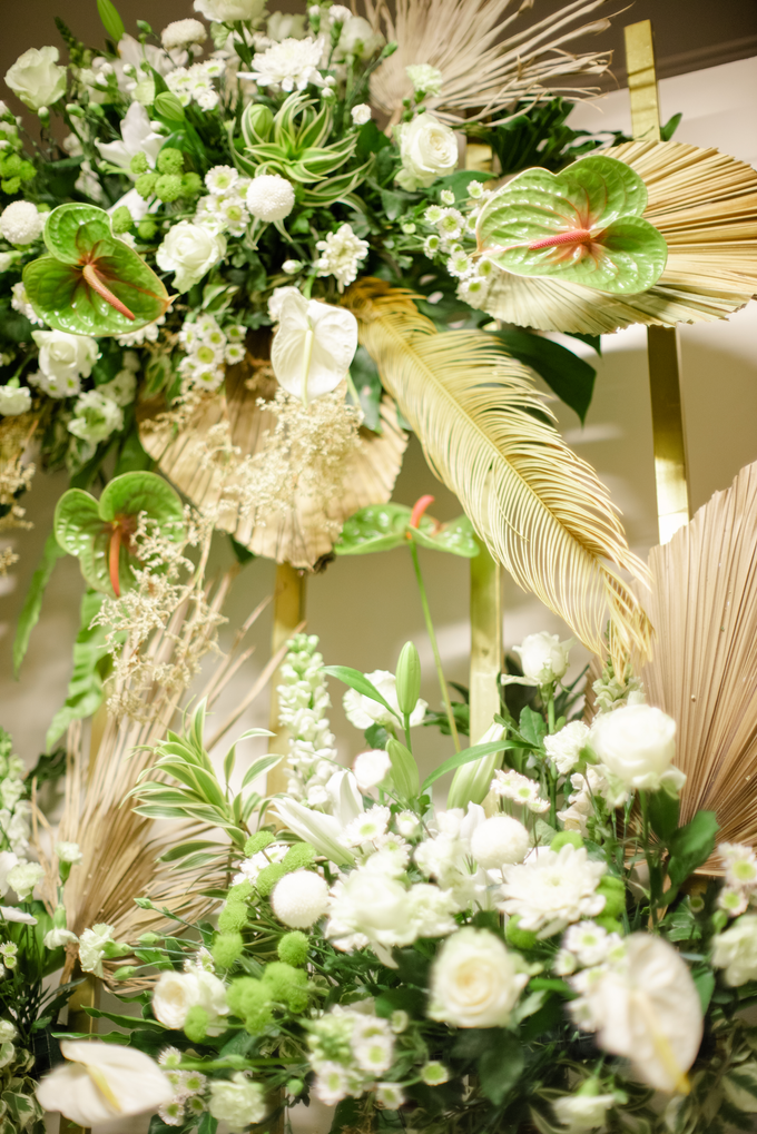 The Wedding of Annisa & Adam by Cassia Decoration - 017
