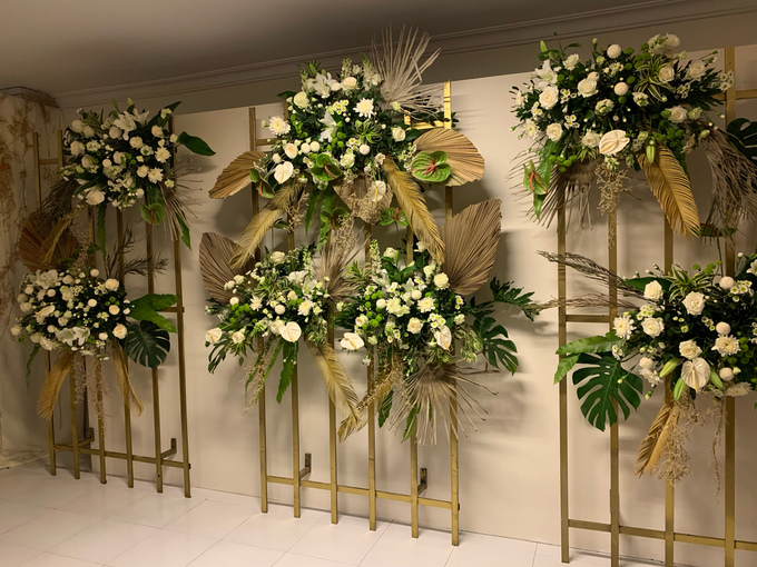 The Wedding of Annisa & Adam by Cassia Decoration - 019