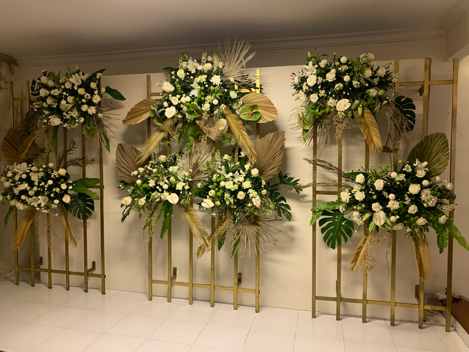 The Wedding of Annisa & Adam by Cassia Decoration - 020