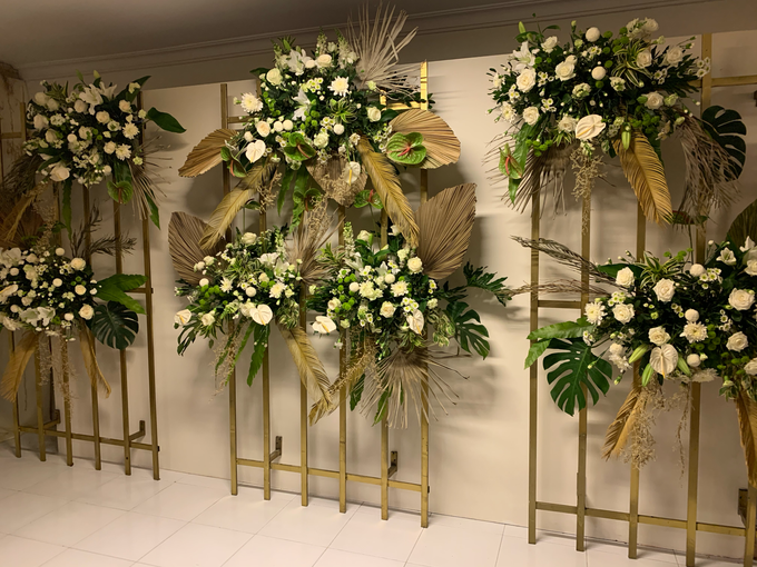The Wedding of Annisa & Adam by Cassia Decoration - 022