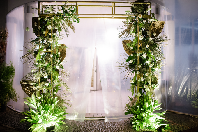 The Wedding of Annisa & Adam by Cassia Decoration - 023