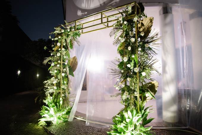 The Wedding of Annisa & Adam by Cassia Decoration - 026