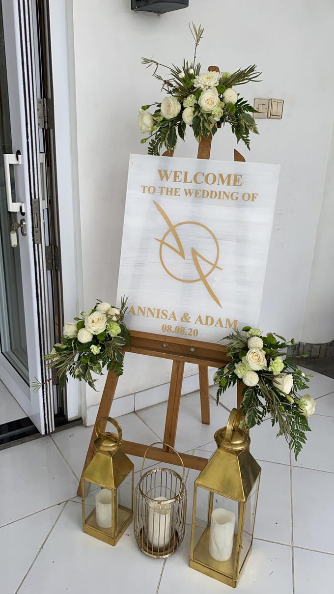 The Wedding of Annisa & Adam by Cassia Decoration - 027