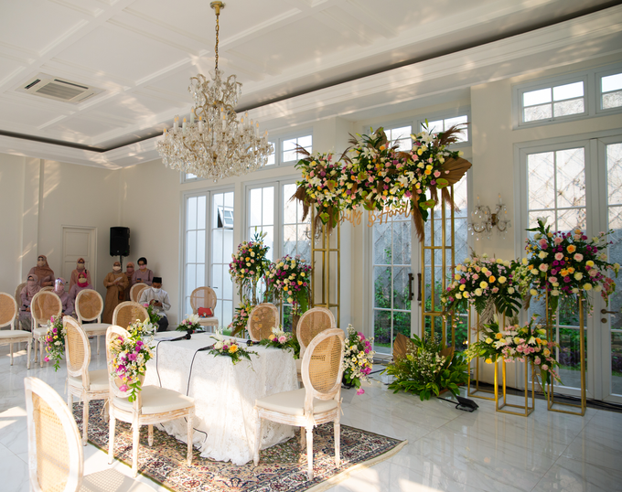 The Wedding of Prilly & Harald by Cassia Decoration - 005