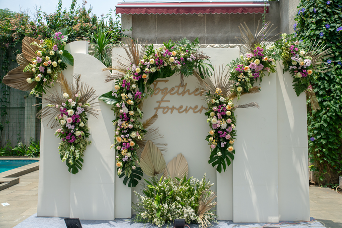 The Wedding of Prilly & Harald by Cassia Decoration - 036