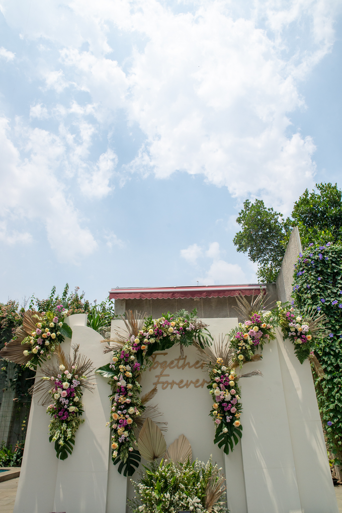 The Wedding of Prilly & Harald by Cassia Decoration - 035