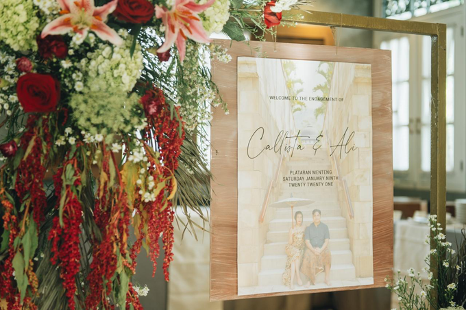 The Engagement of Callista & Ali by Cassia Decoration - 012