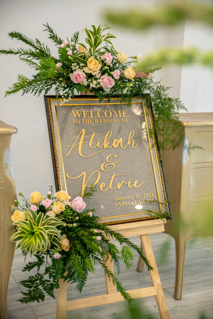 The Wedding of Atikah & Petric by Cassia Decoration - 006