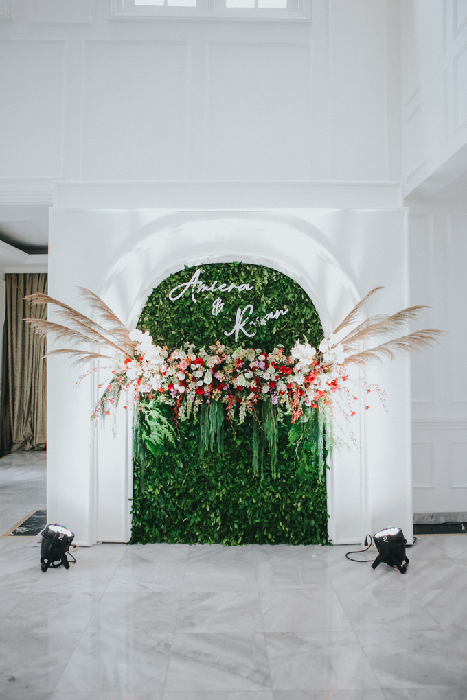 The Wedding of Amiera & Ryan by Cassia Decoration - 010