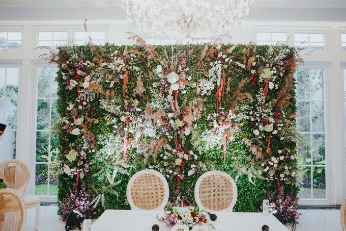 The Wedding of Amiera & Ryan by Cassia Decoration - 011