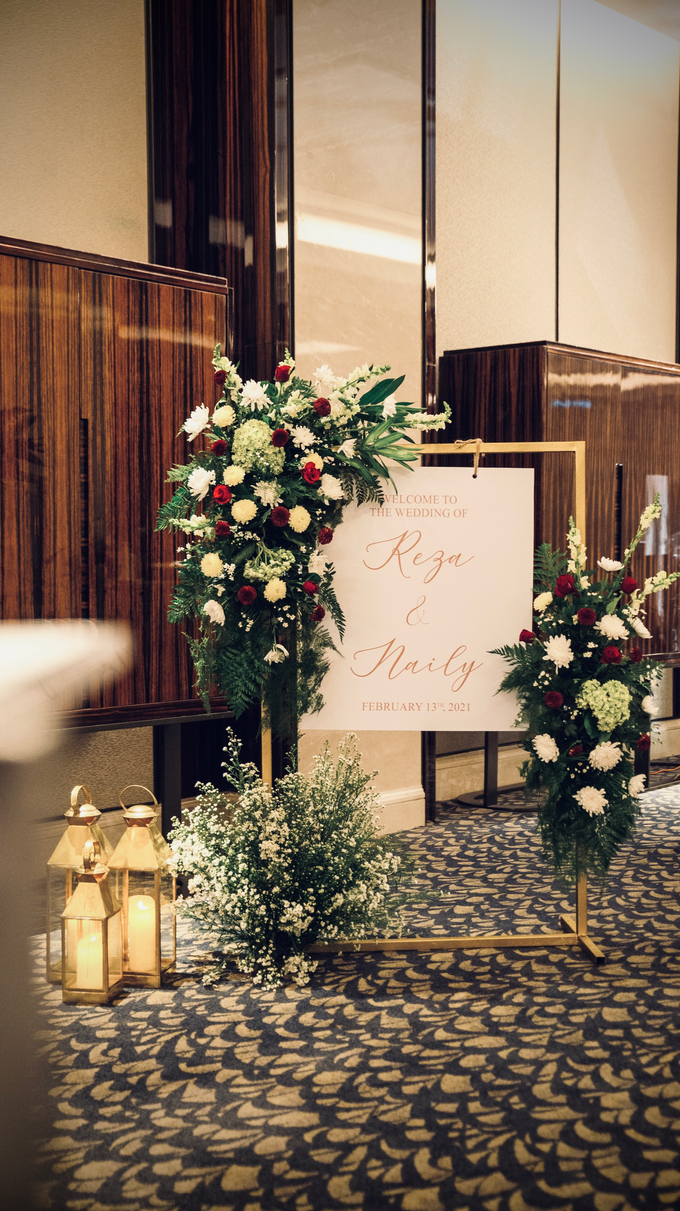 The Wedding of Reza & Naily by Cassia Decoration - 005